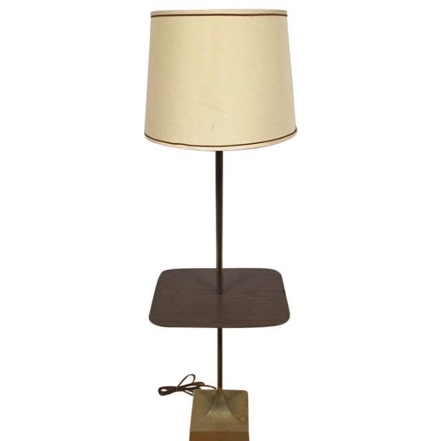 Mid-Century Table Floor Lamp - Image 1 of 8