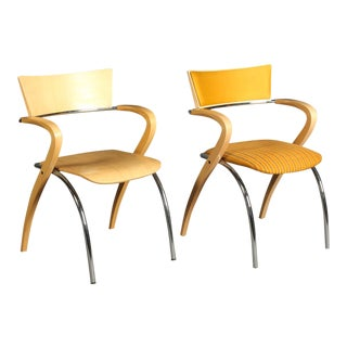 "Modern Francesco Zaccone ""Golf"" Chairs- A Pair For Sale"
