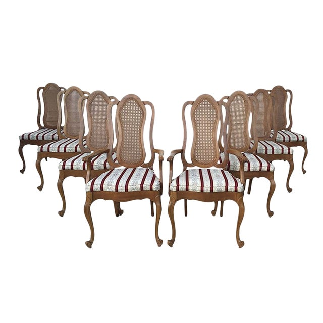 Maitland-Smith French Provincial Chairs - 8 - Image 1 of 9