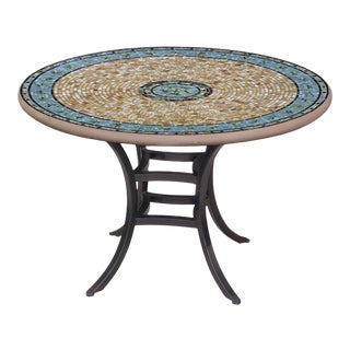 """Malibu 60"""" Bistro Table with Black Base For Sale"""