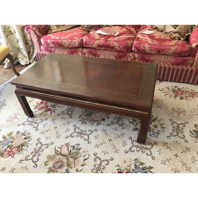 Brunschwig & Fils Asian Style Coffee Table For Sale - Image 4 of 7