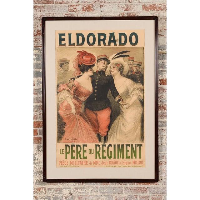 Eldorado Original 1905 Vintage French Poster- by Georges Redon -Framed - Image 2 of 10