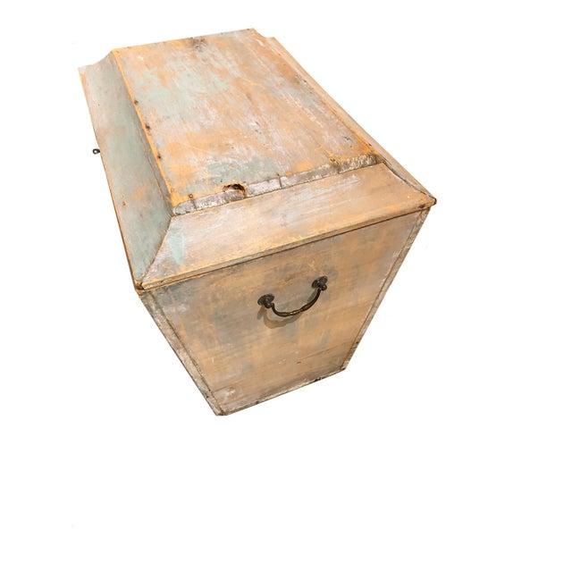 Wood Antique Swedish Storage Box For Sale - Image 7 of 7