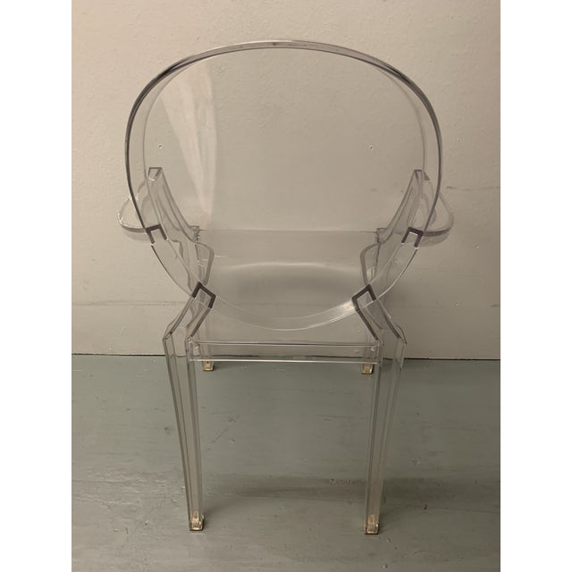 Boho Chic 1990s Vintage Kartell Philippe Starck Ghost Chair For Sale - Image 3 of 5