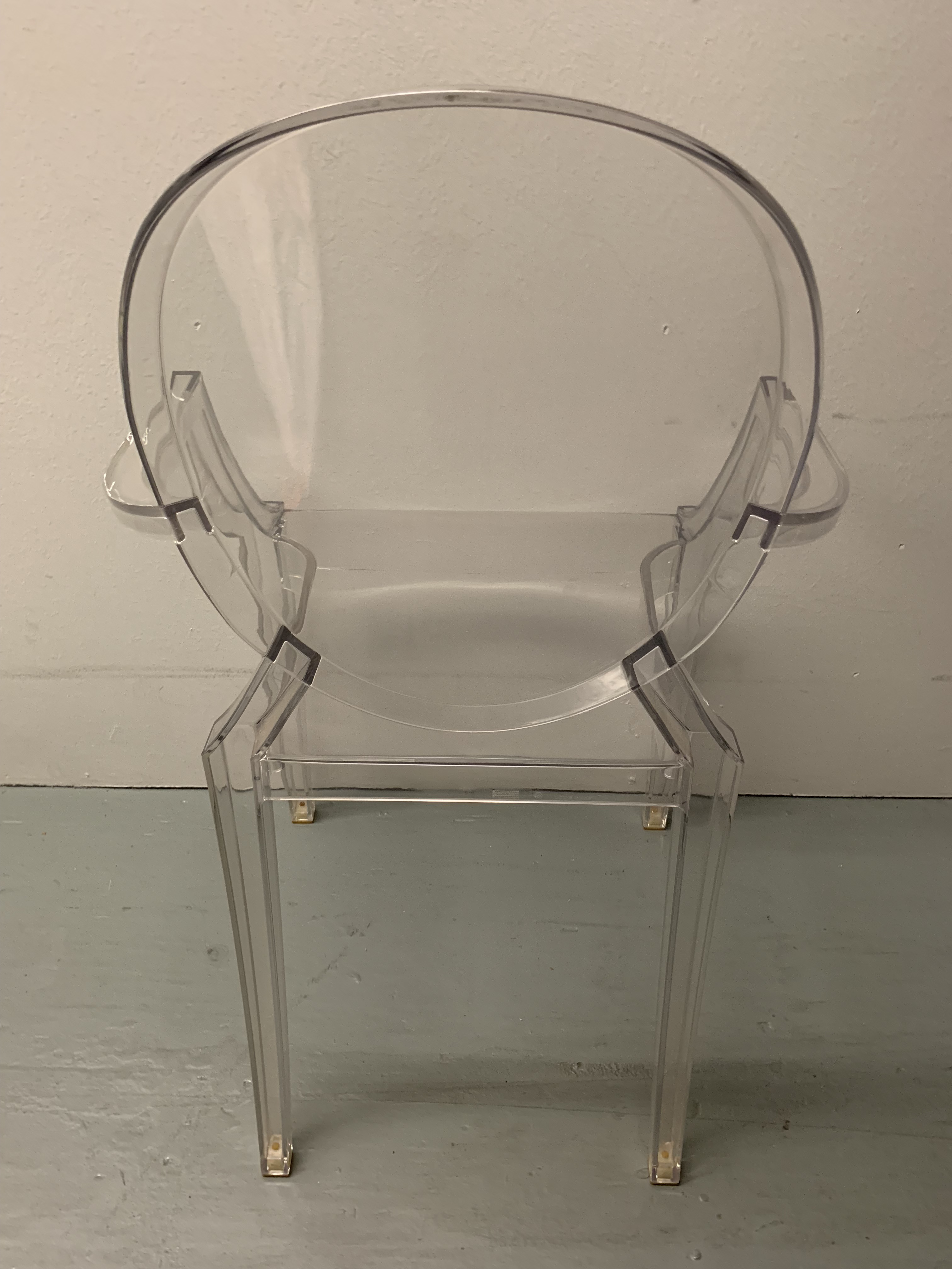 Boho Chic 1990s Vintage Kartell Philippe Starck Ghost Chair For Sale - Image 3 of 5  sc 1 st  Chairish & 1990s Vintage Kartell Philippe Starck Ghost Chair | Chairish