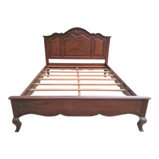 Queen Size English Traditional Inspired Bedframe For Sale