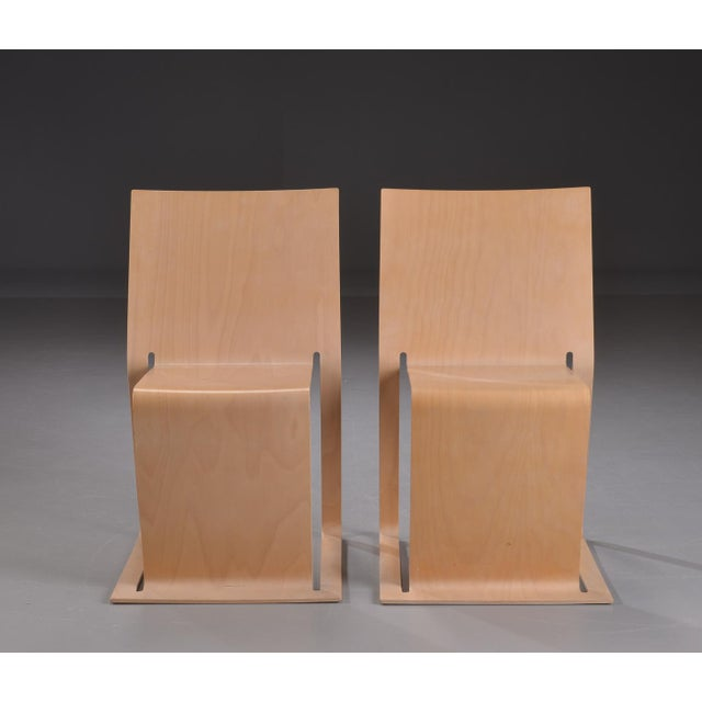 Swedish lForm Stacked Chairs - Set of 3 For Sale - Image 4 of 6