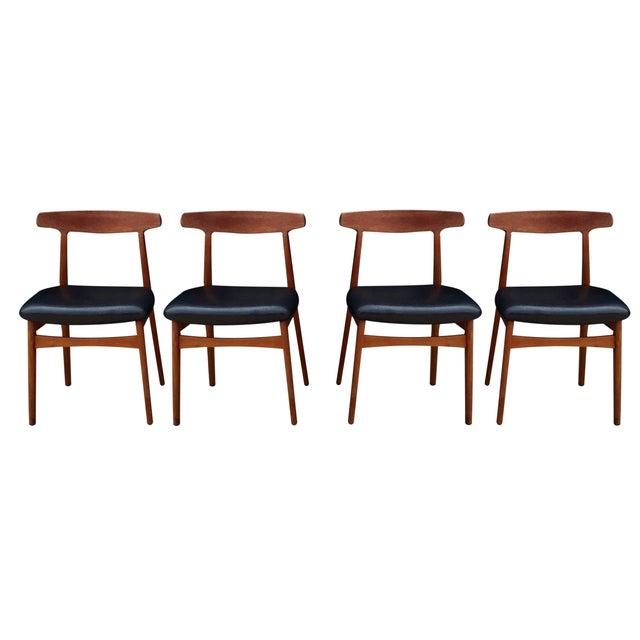 Bruno Hansen Danish Modern Chairs - Set of 4 - Image 1 of 9