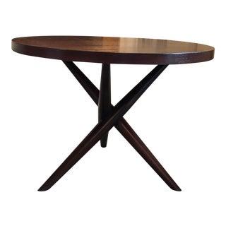 1950s t.h. Robjohn Gibbings Tripod Side Table For Sale