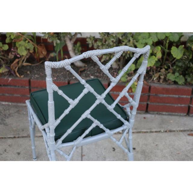 Venemen Outdoor Cast Iron Patio Set For Sale - Image 11 of 13