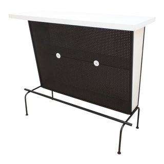 Mid Century Modern Dry Bar For Sale