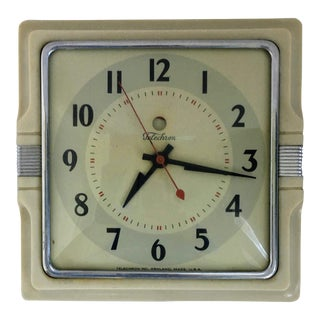 "Vintage Telechron ""Cafe"" Clock For Sale"