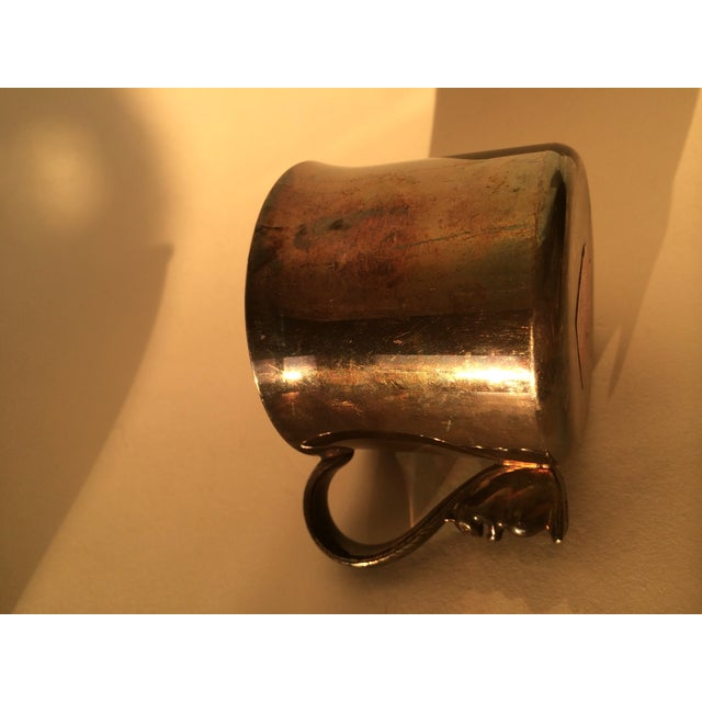 Silver Plated Squirrel Handle Baby Cup - Image 7 of 7