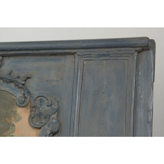 Early 20th Century Painted Trumeau Mirror For Sale In San Francisco - Image 6 of 7