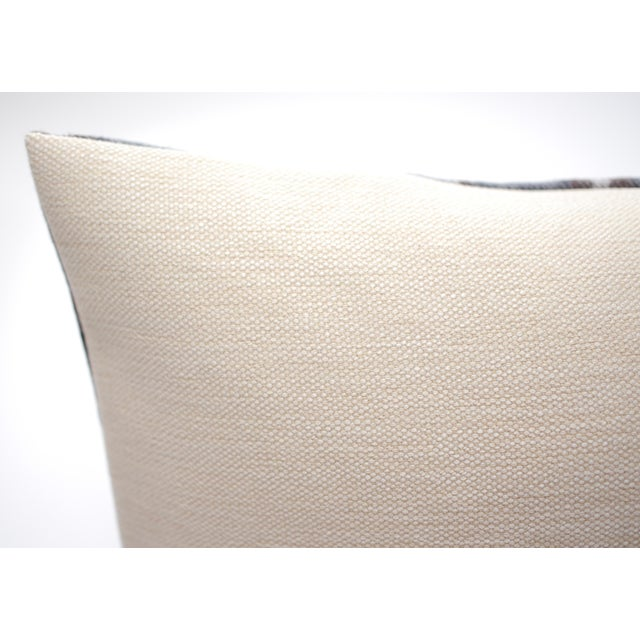 "Jacques Bouvet Et Cie ""Oregon"" 20"" X 12"" Wool Pillow For Sale - Image 4 of 5"