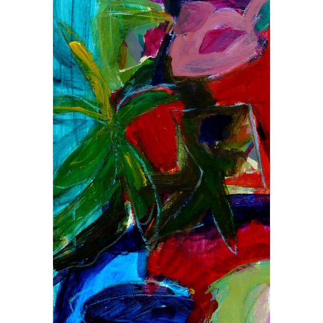 Abstract Abstract Still Life #2 Painting Collage For Sale - Image 3 of 3