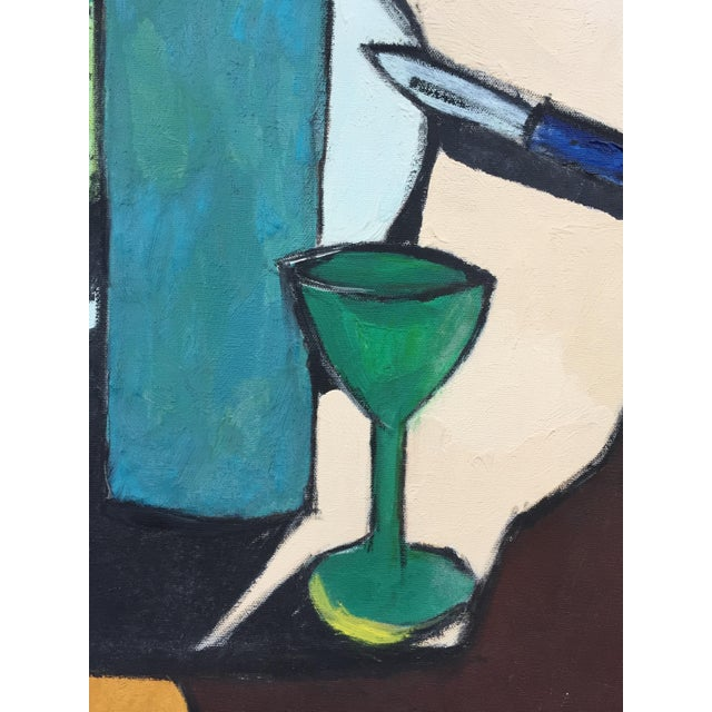 Mid-Century Modern Still Life Painting For Sale In San Francisco - Image 6 of 10