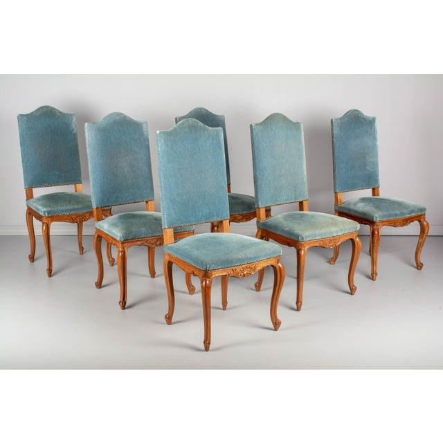 French Louis XV Style Dining Chairs - Set of Six For Sale - Image 10 of 10
