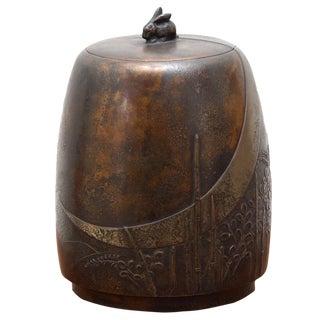 Bronze Tea Caddy