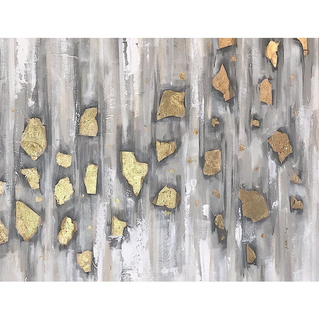 'Midas' Original Abstract Painting by Linnea Heide For Sale - Image 9 of 10