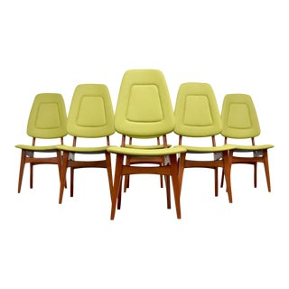 Danish Modern Teak Dining Chairs - Set of Six For Sale