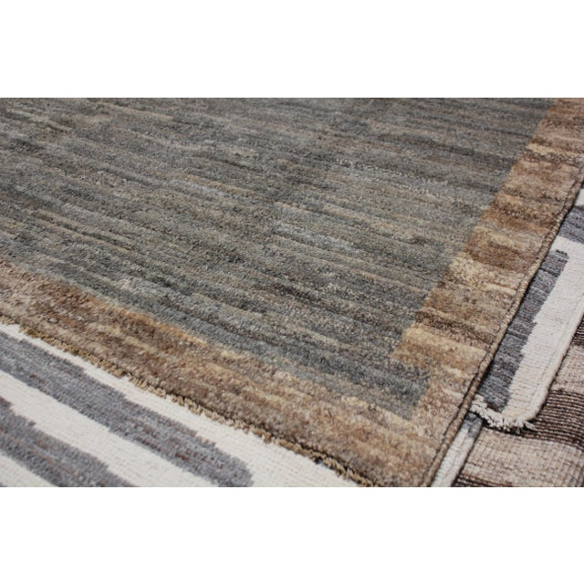 Aara Rugs Inc. Moroccan Inspired Hand-Knotted Rug - 5′10″ × 8′6″ For Sale - Image 4 of 13