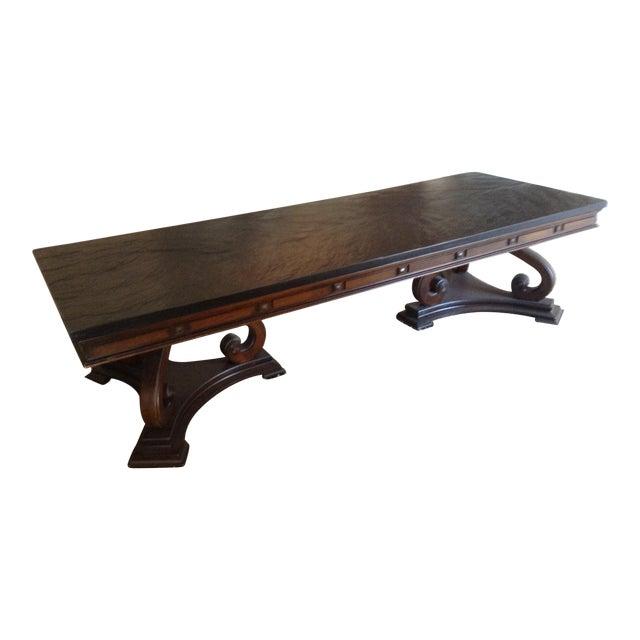 Slate Coffee Table For Sale