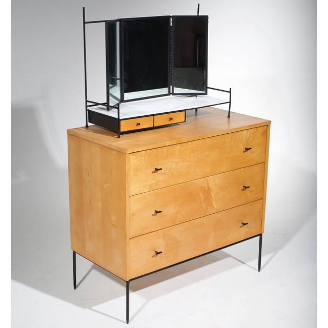 Mid-Century Modern Three-Drawer Dresser by Paul McCobb for Planner Group in Natural Maple For Sale - Image 3 of 11