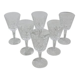 1950s Wine Glasses by Waterford - Set of 6 For Sale