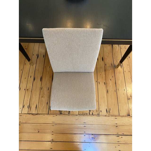 Beige Lawson-Fenning Thin Frame Dining Chairs - Set of 8 For Sale - Image 8 of 10