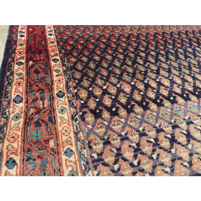 "Vintage Persian Malayer Rug – Size: 3'4"" X 5' 1"" For Sale In New York - Image 6 of 10"