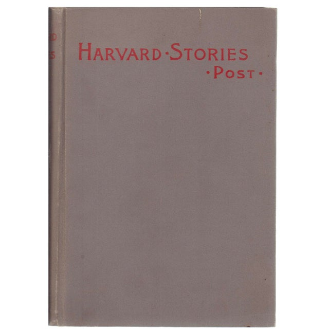 "1895 ""Harvard Stories: Sketches of the Undergraduate"" For Sale - Image 4 of 4"