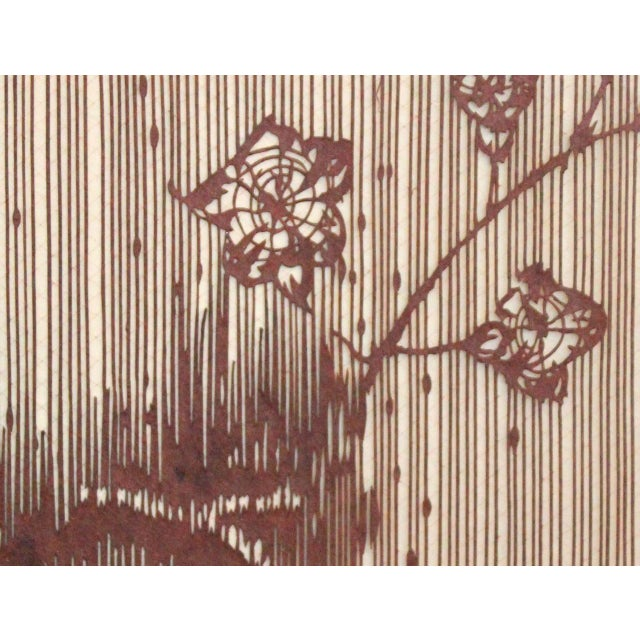 c66b82d2f Antique Japanese Kimono Fabric Stencil Katagami For Sale In New York -  Image 6 of 10