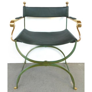 Brass Director's Chairs by Valenti, Spain- 4 Pairs Available Preview