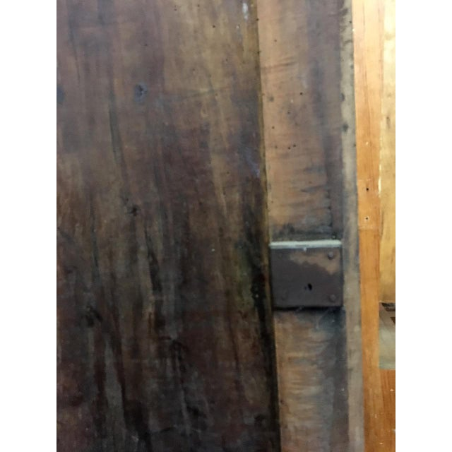 Late 18th Century Walnut French Cabinet Doors- a Pair For Sale - Image 10 of 11