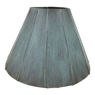 Vintage Metal Lamp Shade For Sale
