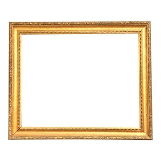 1970s Vintage Gold Ornate Large Frame