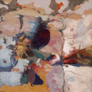 Fred Hope Semi-Abstract Oil Painting, Tidal Zone - #001 For Sale
