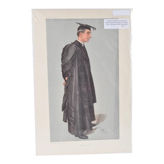 """Vanity Fair Man, """"Men of the Day. No. 885."""" For Sale"""
