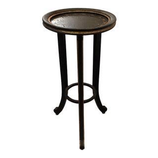 Amy Howard Black Chalk Martini Table
