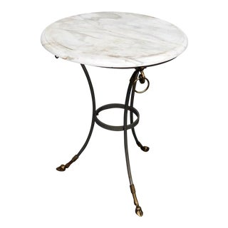 20th Century Regency Marble Top Center Table For Sale