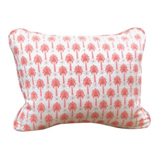 Vintage 1950's Boho Chic Palm Springs Pillow For Sale
