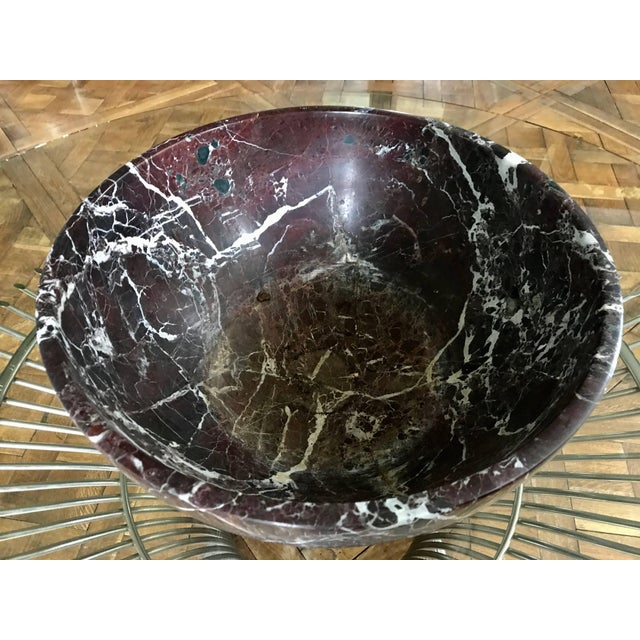1930s Marble Bowl For Sale - Image 5 of 7