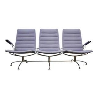 Fritz Hansen Lufthavnsstolen Three Seat Sofa For Sale