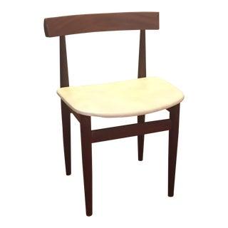 20th Century Danish Modern Hans Olsen for Frem Røjle Nesting Dining Chair For Sale