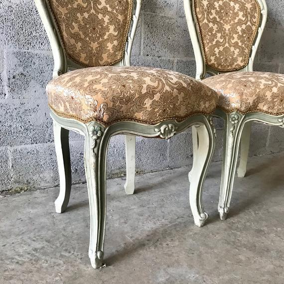 1900 - 1909 1900s Vintage Louis XVI Chairs- A Pair For Sale - Image 5 of 11