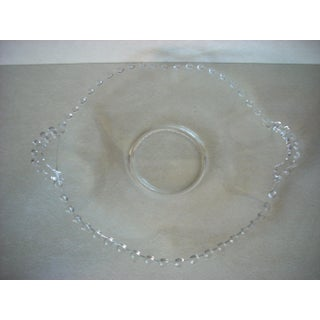 Candlewick Clear Glass Serving Plate Preview