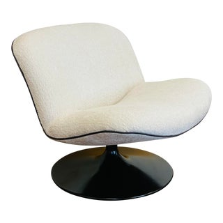 1970s Geoffrey Harcourt for Artifort 508 Swivel Lounge Chair For Sale