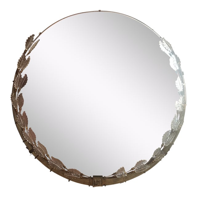 1960s Art Deco Grecodeco Glamour Mirror For Sale