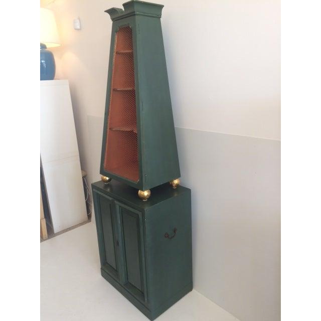 Hollywood Regency Dunbar Obelisk Form Etagere For Sale - Image 3 of 11